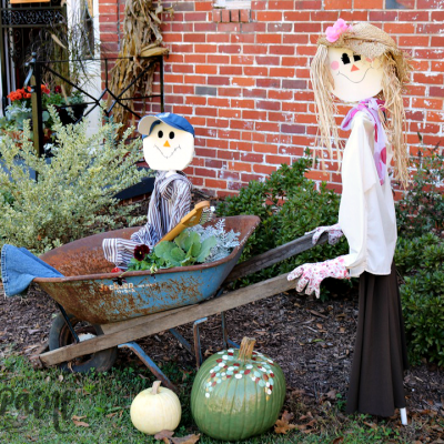 Our Scarecrow Family