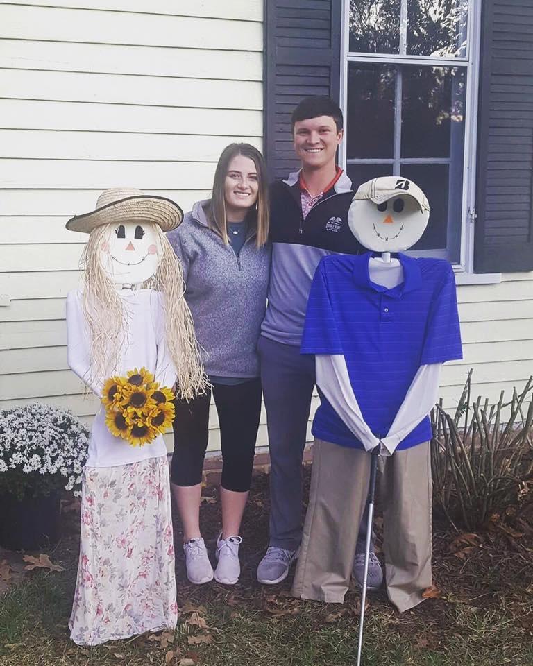 Scarecrows, DIY Scarecrows, Golfer Scarecrow