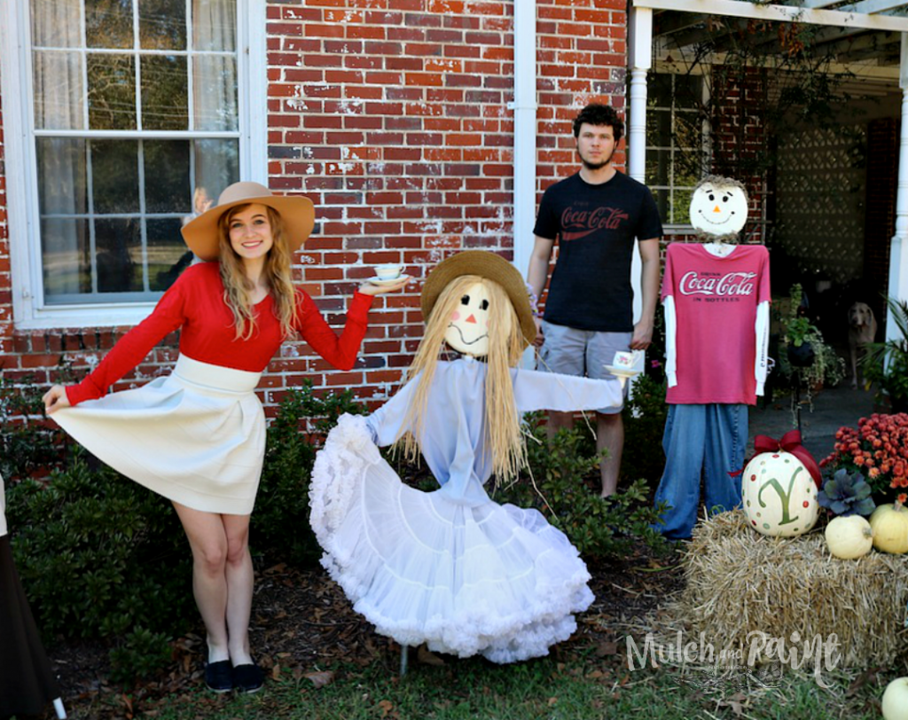 Scarecrows, DIY Scarecrows, Boy and Girl Scarecrows
