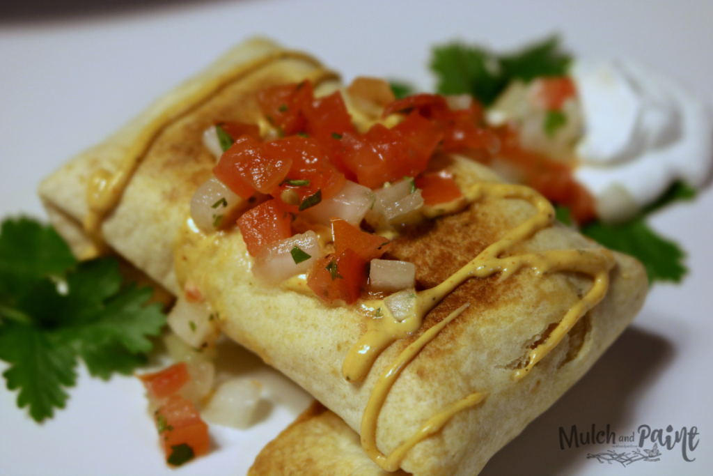 Baked Chicken Chimichangas, Chimichanga Recipe