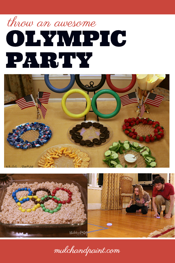 Olympic Party Ideas, DIY Olympic Party, Awesome Olympic Party