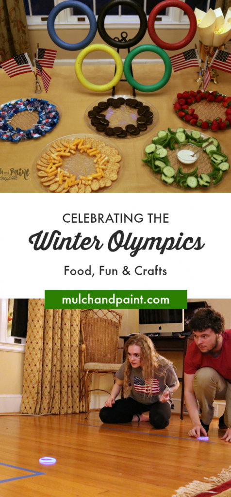 Winter Olympics Food Fun Crafts, DIY Olympic Party, Winter Olympics Party