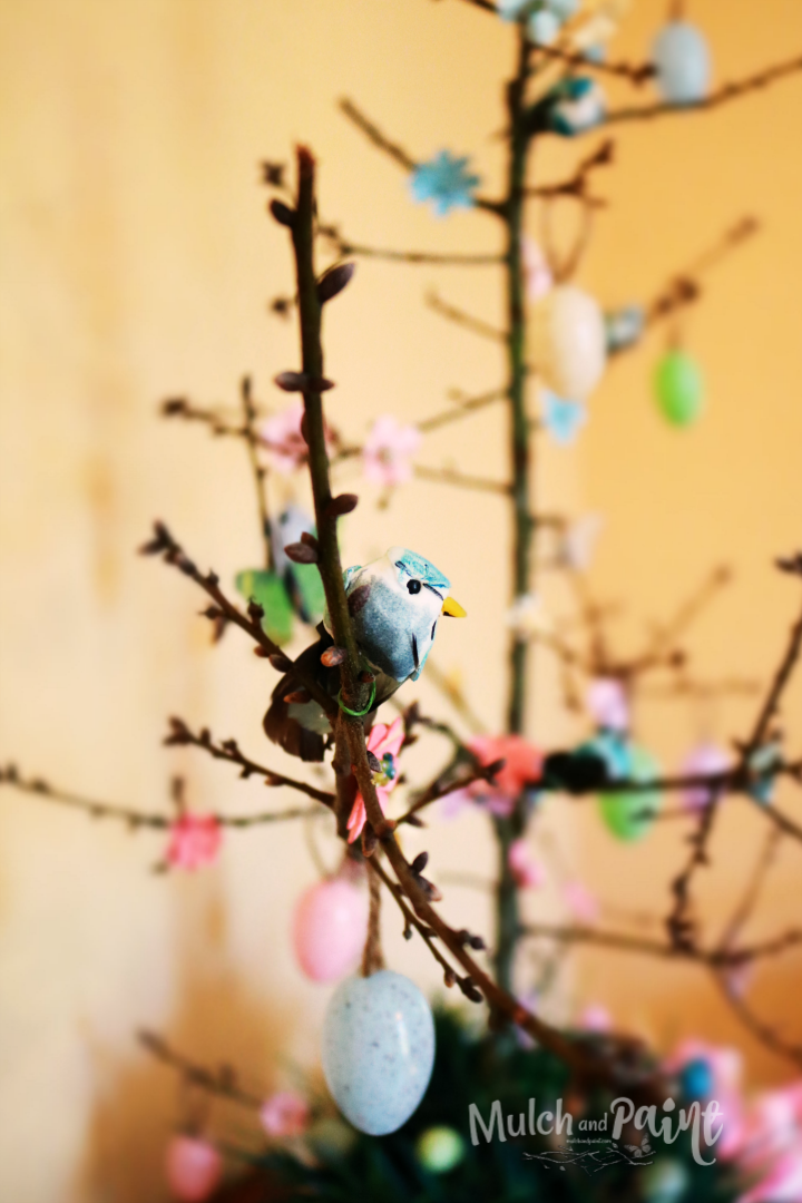 Easter Tree, bird, Spring Tree, Easter tree decorations, spring ornaments