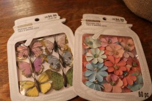 Easter Tree, Easter Tree decorations, butterflies, flowers