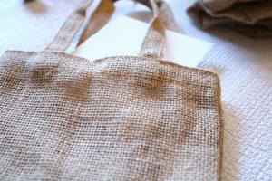 Stenciled burlap bags, Easter gift bags, Burlap bags, Easter crafts