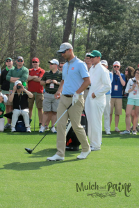 Adam Scott at The Masters 2015