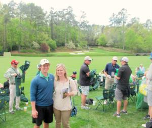 Mulch and Paint at The Masters 2015