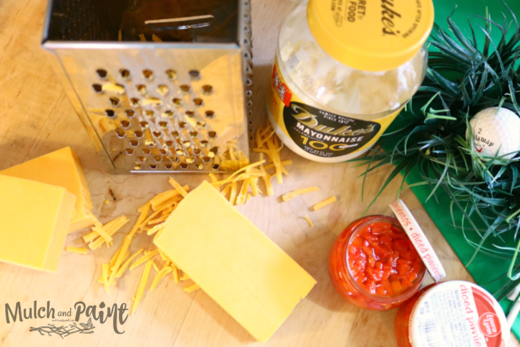 Pimiento cheese ingredients