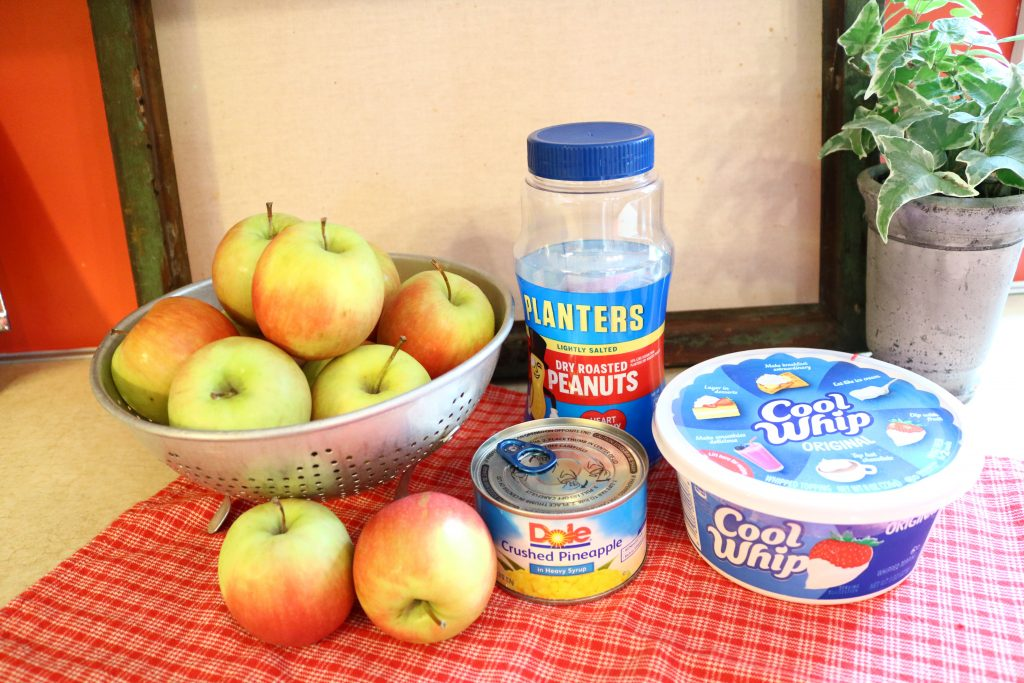 Taffy Apple Salad Ingredients