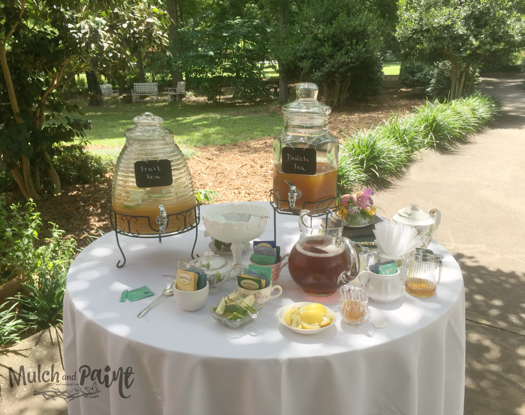 Birthday Tea Party table of teas, Tea Party Decor, Tea Party Ideas, Host a Tea Party, Tea Party Recipes