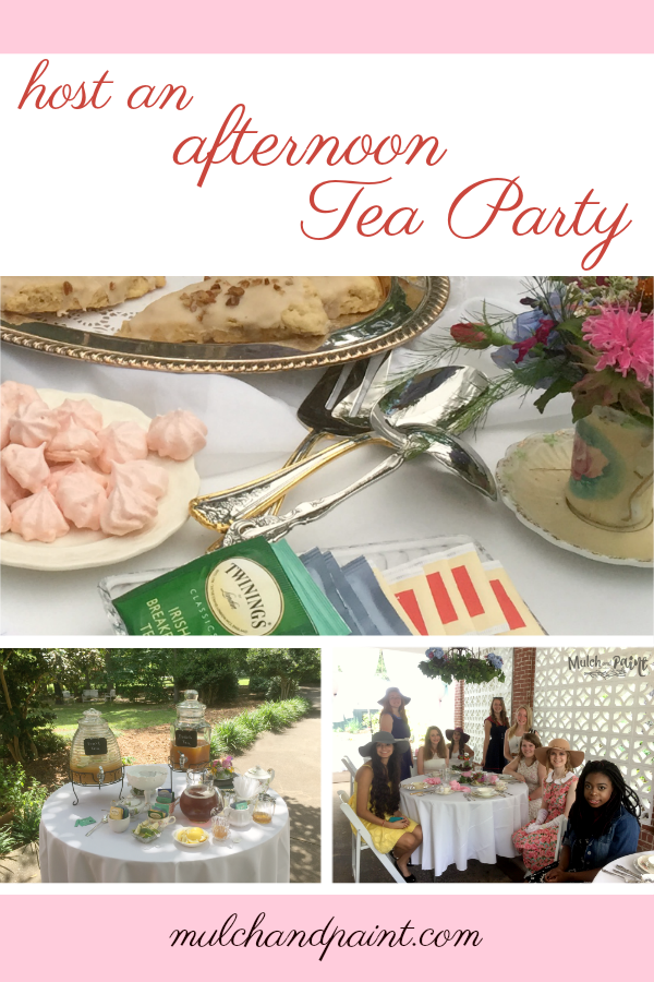 Host an Afternoon Tea Party, Tea Party Recipes, Tea Party Ideas, Tea Party Decorations, Birthday Tea Party