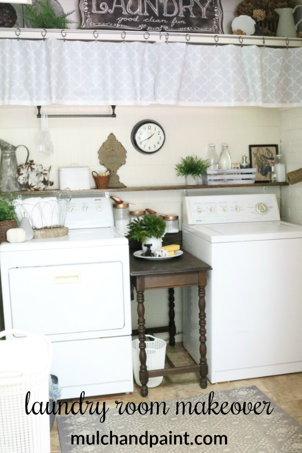 Laundry Room Makeover After photos