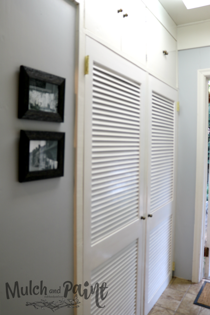 Laundry Room Makeover Closet Doors After