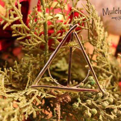 Harry Potter Deathly Hallows Christmas Ornament