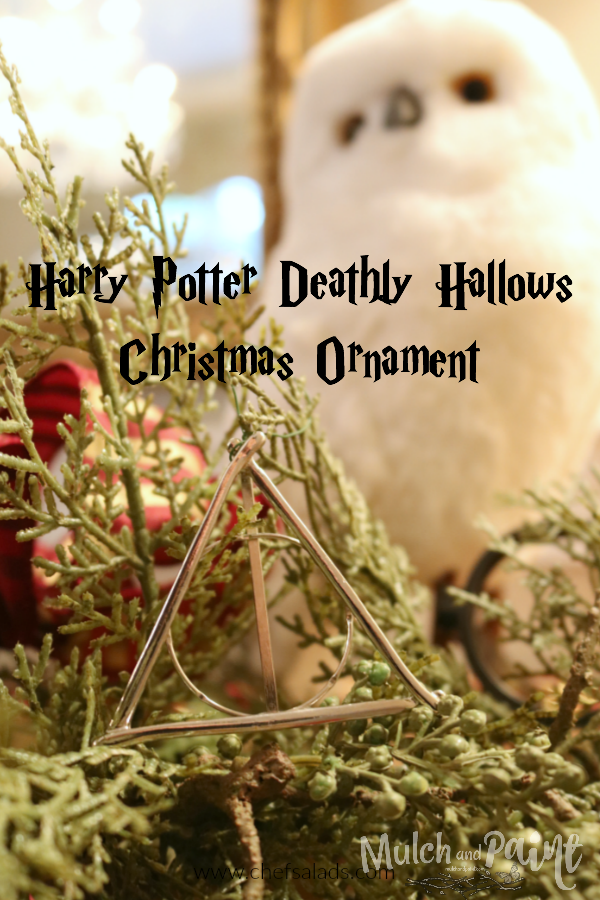 Harry Potter Deathly Hallows Christmas Ornament DIY