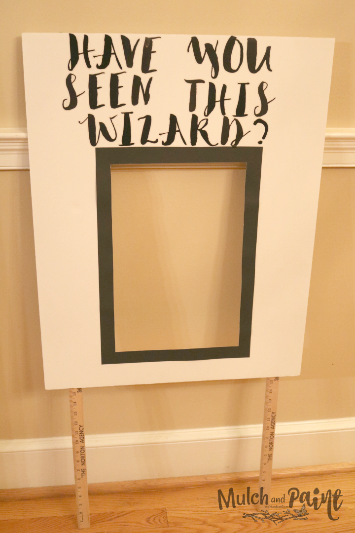 Have you Seen this Wizard Harry Potter poster DIY