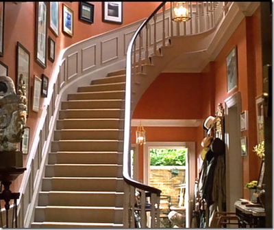 Parent Trap London house foyer photo