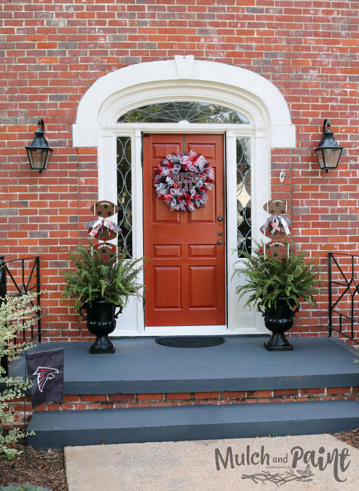Rise Up Front Door Decor