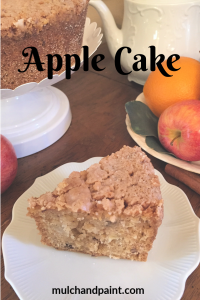 Apple Cake from Mulch and Paint blog