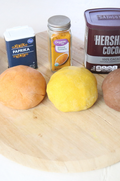 Natural Homemade Playdough