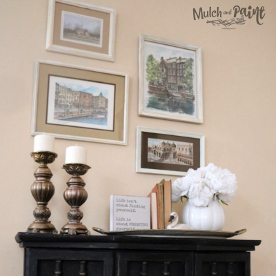 Make a Gallery Wall the Quick and Lazy Way