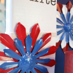 Patriotic Decor from Dollar Tree Sign