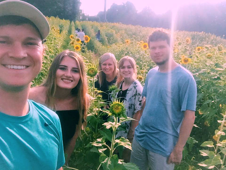 Sunflowers, Sunflower farm, Late Summer Tablescape