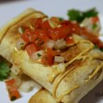 Baked Chicken Chimichangas, Chimichanga Recipe