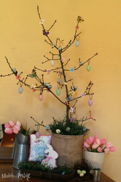Easter Tree, Spring Tree, Easter decorations, Spring decorations