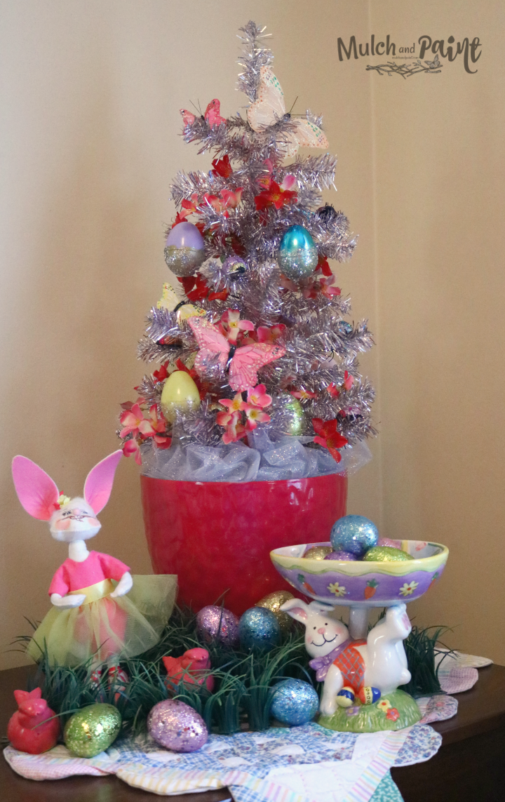 Easter Tree, Spring Tree, Tacky Easter Tree