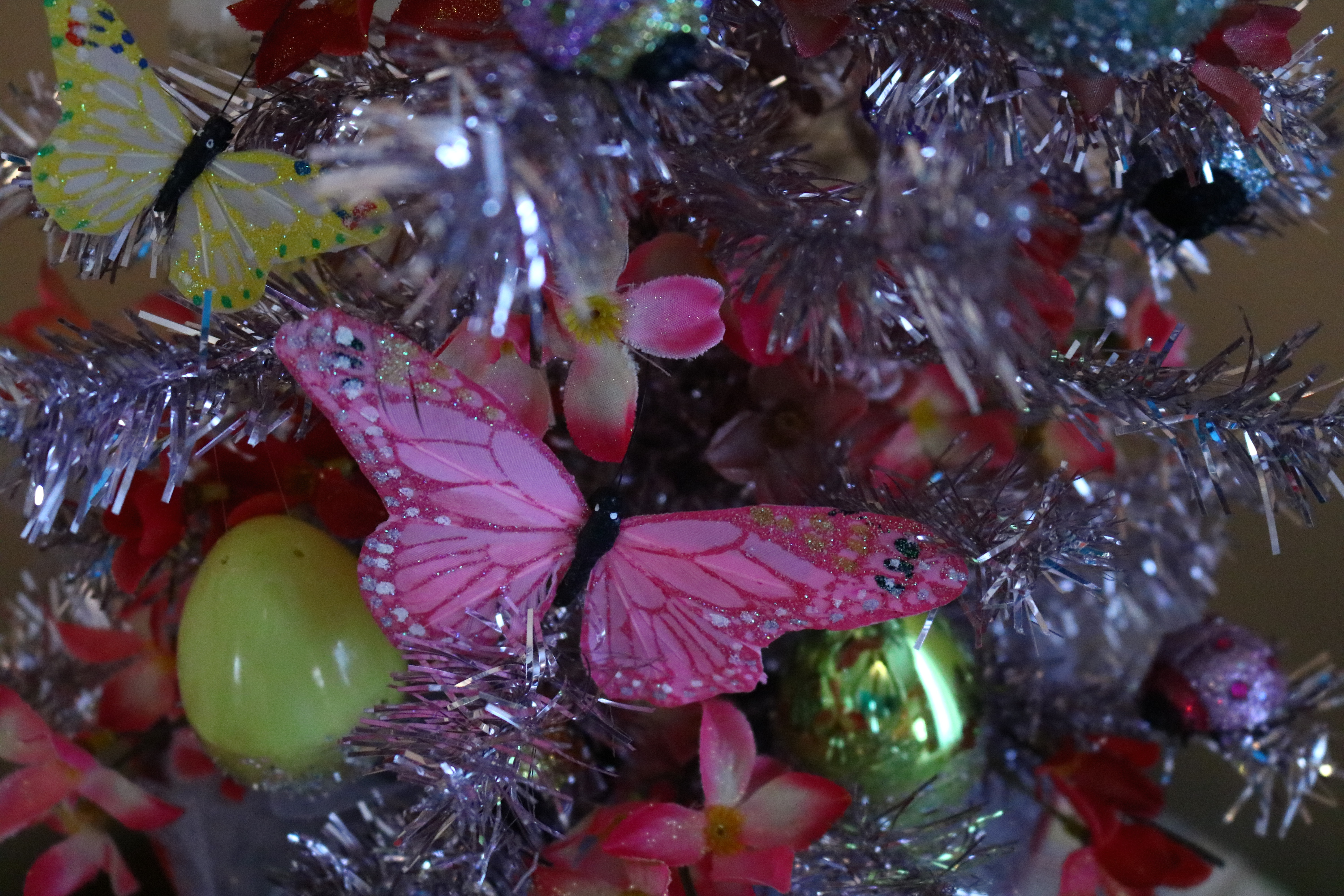 Easter Tree, Spring Tree, Tacky Eater Tree, butterfly