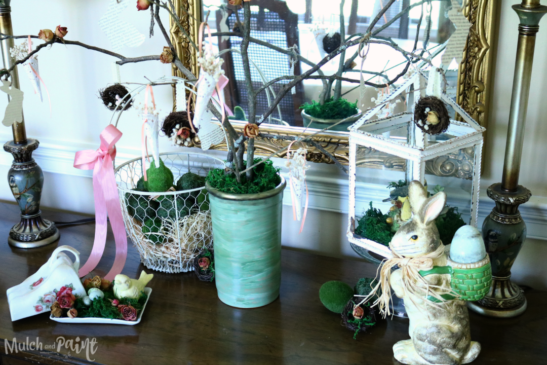 Victorian Easter Tree, Easter Tree, Spring Tree
