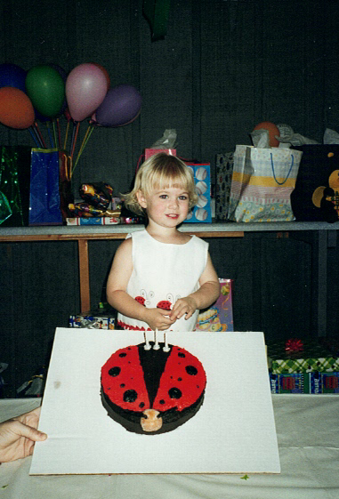 My Favorite Birthday, Ladybug birthday cake, Trying to be the perfect mom
