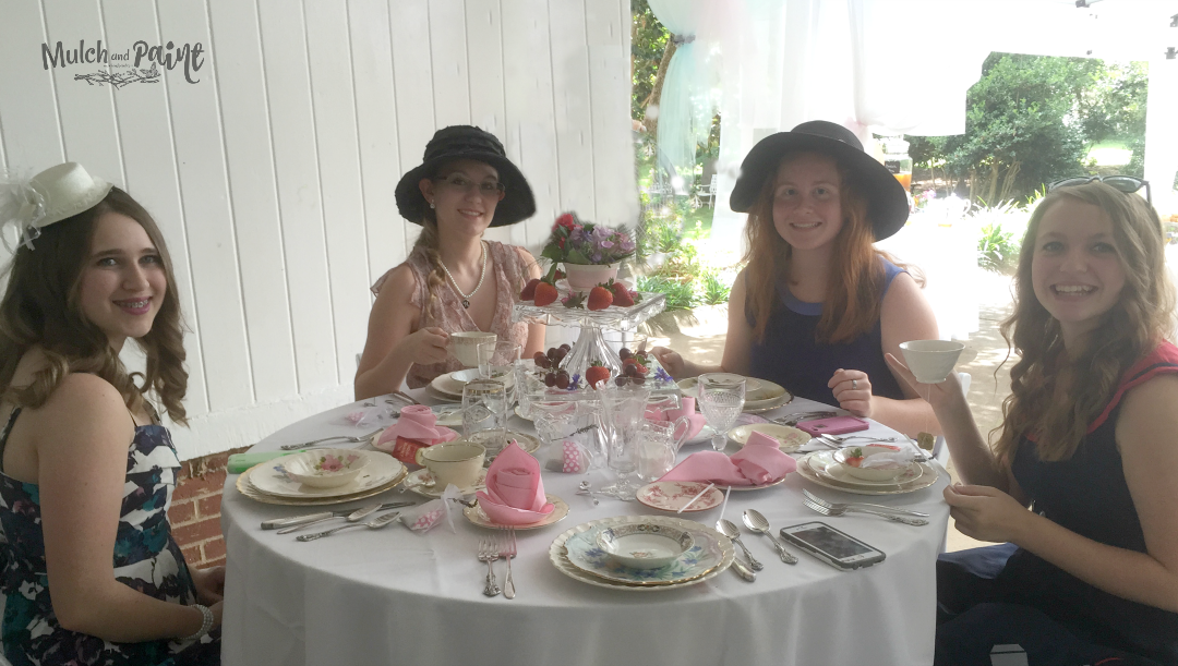 Birthday Tea Party decorated tables, Tea Party, Tea Party Decor, Tea Party Ideas, Tea Party Recipes