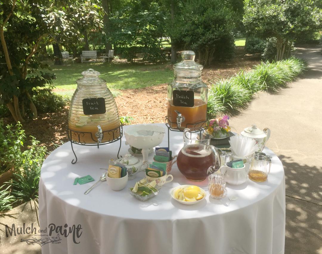 Birthday Tea Party table of teas, Tea Party Decor, Tea Party Ideas, Host a Tea Party, Tea Party Recipes
