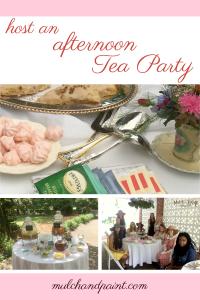 Host an Afternoon Tea Party, Tea Party Recipes, Tea Party Ideas, Tea Party Decorations, Birthday Tea Party