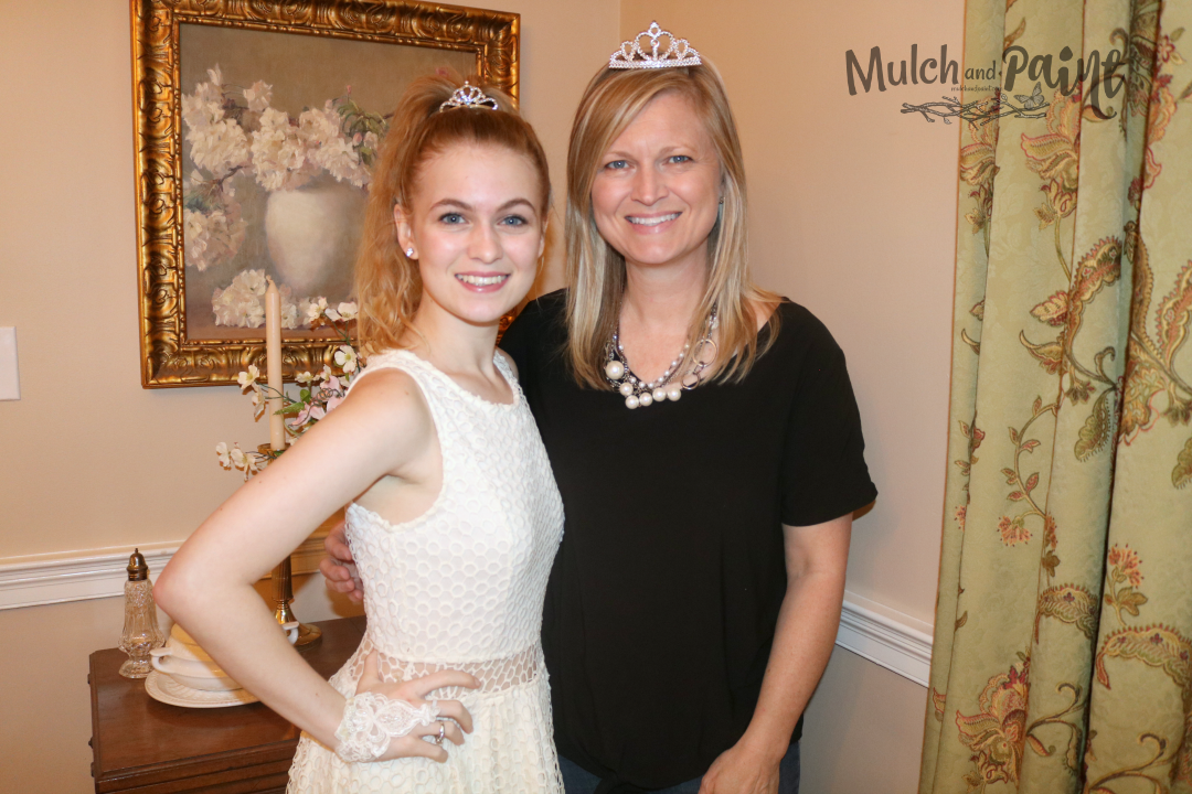Kristi Young Mulch and Paint and Mary at Royal Tea Party 2018, Tea Party Ideas