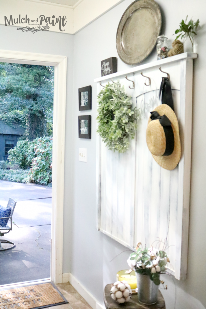 Laundry Room Makeover Entry