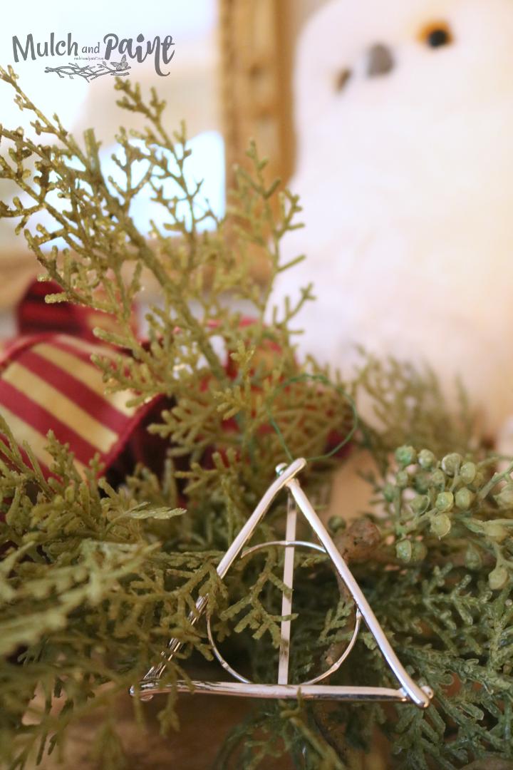 Deathly Hallows Christmas Ornament DIY Harry Potter