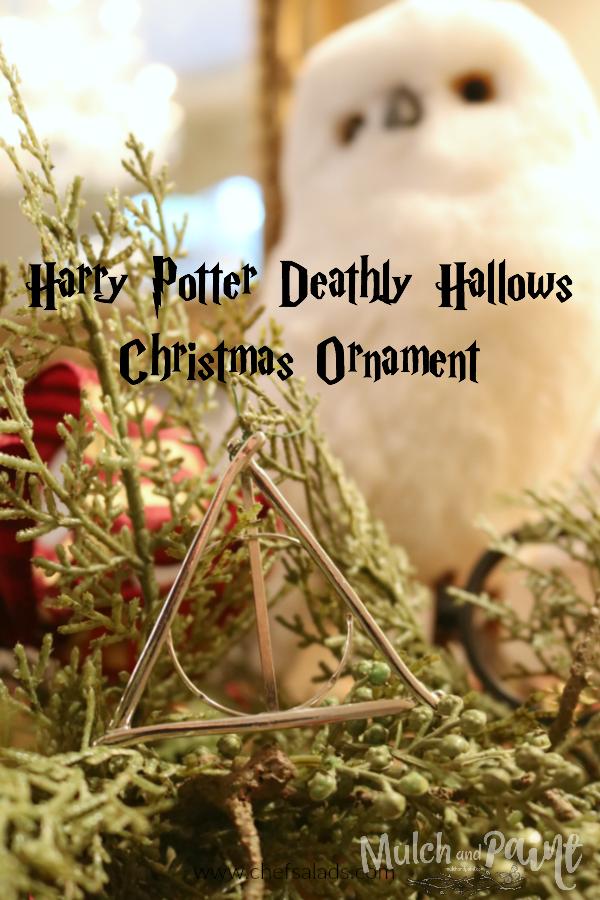 Harry Potter Deathly Hallows Christmas Ornament DIY
