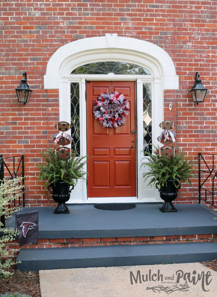 Rise Up Front Door Decor