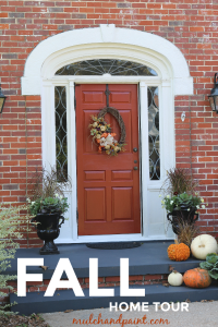 Welcome to our Fall Home Tour Pinterest