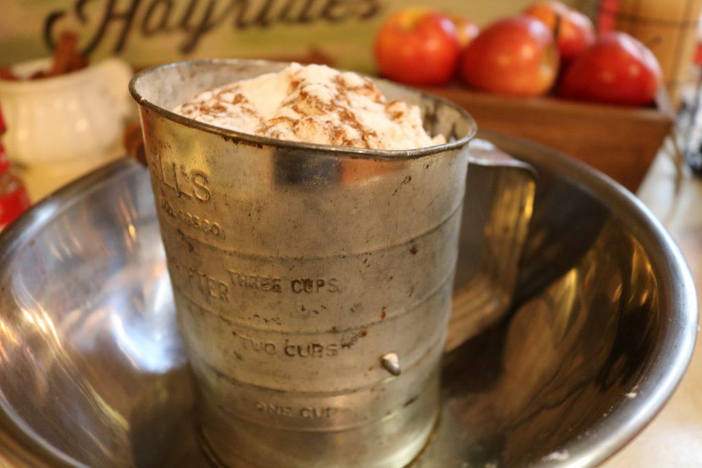 Apple Cake dry ingredients