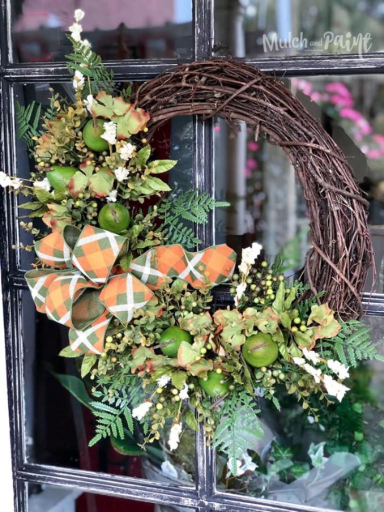 Pear Wreath for Fall
