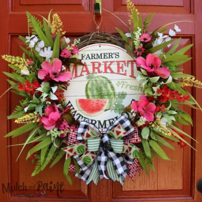 Summer Wreaths II:  Return of the Hydrangeas
