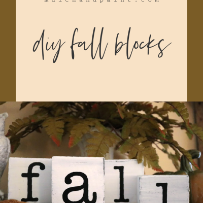 Fall Wood Blocks