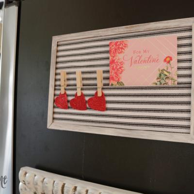 DIY Card Organizer