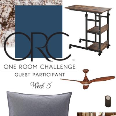 Boy's Room Refresh-One Room Challenge Week 5