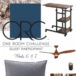 Boy's Room Refresh-One Room Challenge Weeks 6 & 7